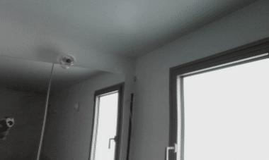 גילוי רטיבות בקיר פנימי