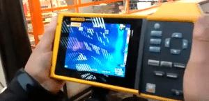 איתור נזילת מים בשרונה מרקט עם מצלמה תרמית