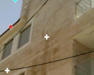 חדירת מים בקיר מעטפת כפול בירושלים