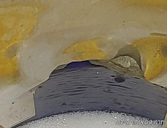 צילום על ידי רובוט לצילום פנים צנרת כשל בחיבור האביזר