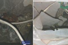 טפטוף מים מתקרה בקומה א